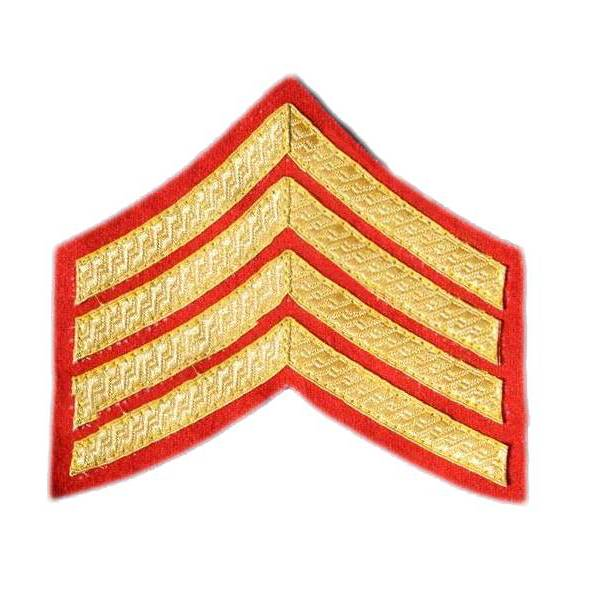 Emblazon Staff Sergeant Rank