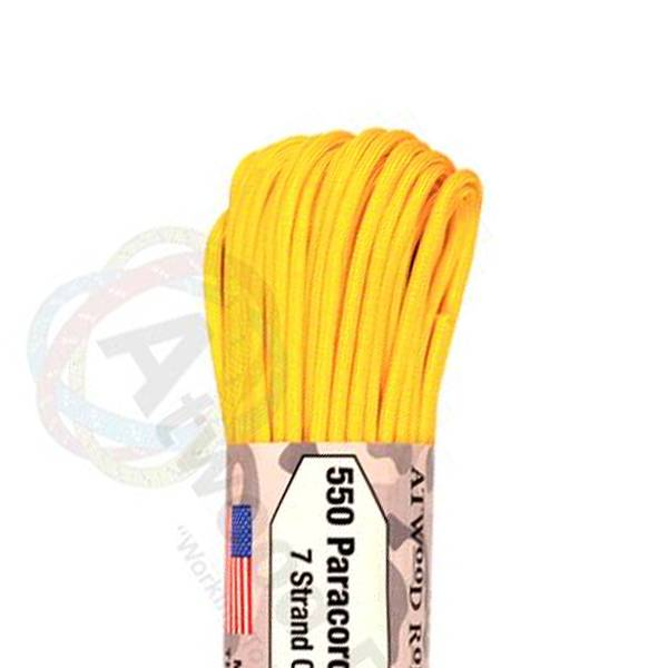 Atwood Rope MFG Atwood Rope MFG 550 Paracord 100ft - Yellow
