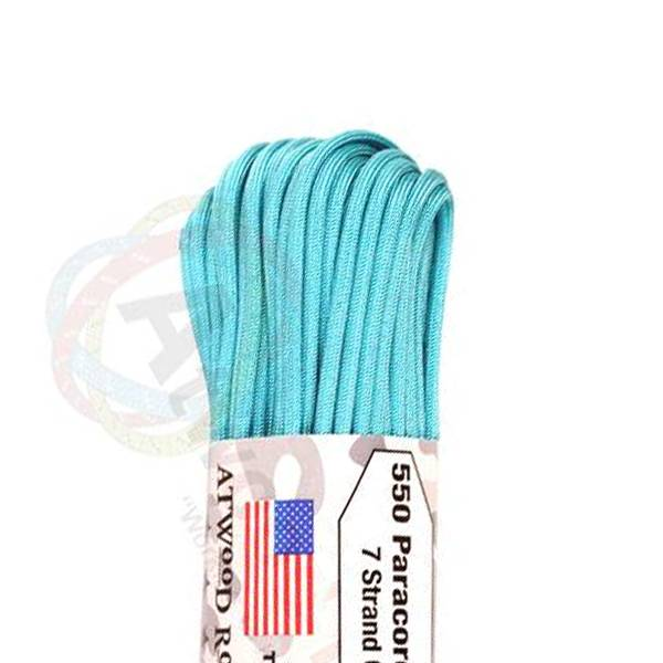 Atwood Rope MFG Atwood Rope MFG 550 Paracord 100ft - Carolina Blue