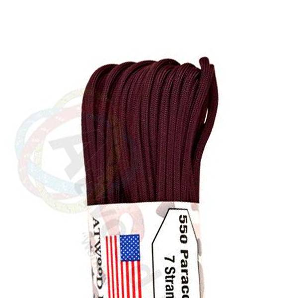 Atwood Rope MFG Atwood Rope MFG 550 Paracord 100ft - Maroon
