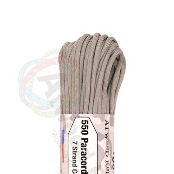 Atwood Rope MFG Atwood Rope MFG 550 Paracord 100ft - Grey