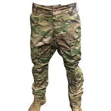 Custom Army Combat Pant, Flame Resistant, Multicam