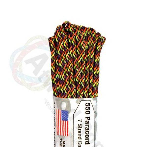 Atwood Rope MFG Atwood Rope MFG 550 Paracord 100ft - Hyper