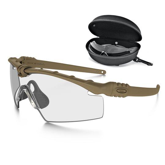 c2e085caf96 Oakley Oakley SI Ballistic M-Frame 3.0 Dark Bone Array Clear Grey - DS  Tactical