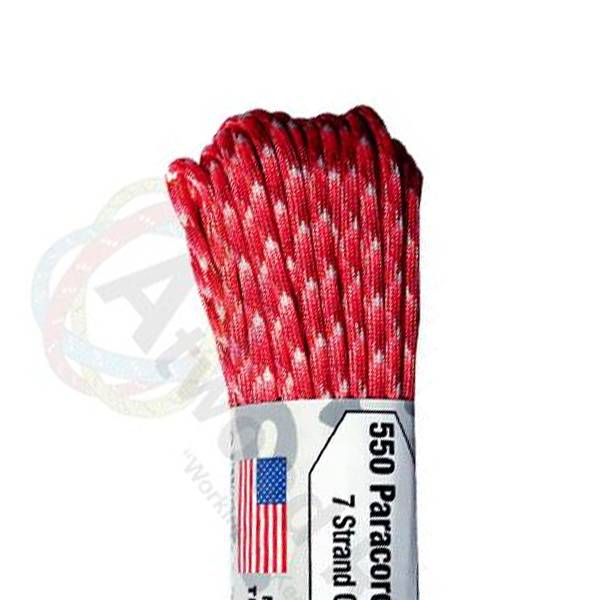 Atwood Rope MFG Atwood Rope MFG 550 Paracord 100ft - Love