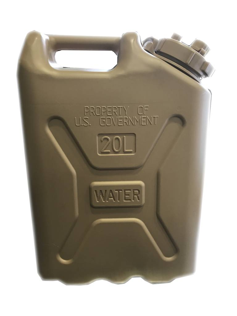 Scepter Scepter Military Water Can 20L Sand Government
