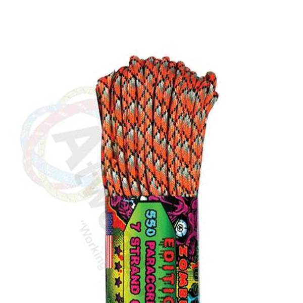 Atwood Rope MFG Atwood Rope MFG 550 Paracord 100ft - Corrosion
