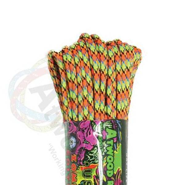 Atwood Rope MFG Atwood Rope MFG 550 Paracord 100ft - Virus