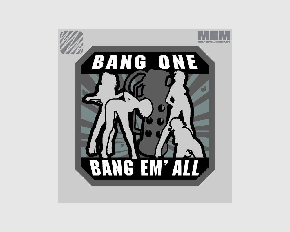 Milspec Monkey Milspec Monkey Bang Em' All (Large)