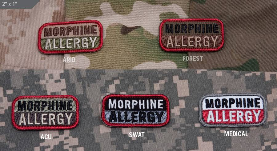 Milspec Monkey Milspec Monkey Morphine Allergy