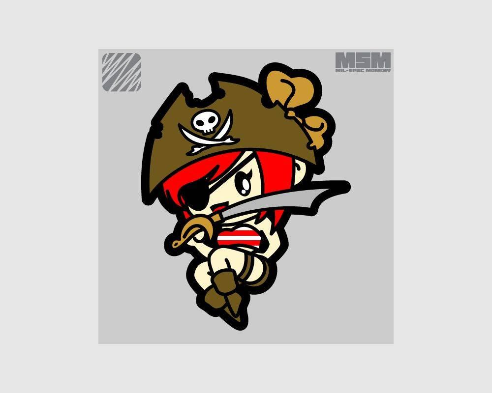 Milspec Monkey Milspec Monkey Pirate Girl