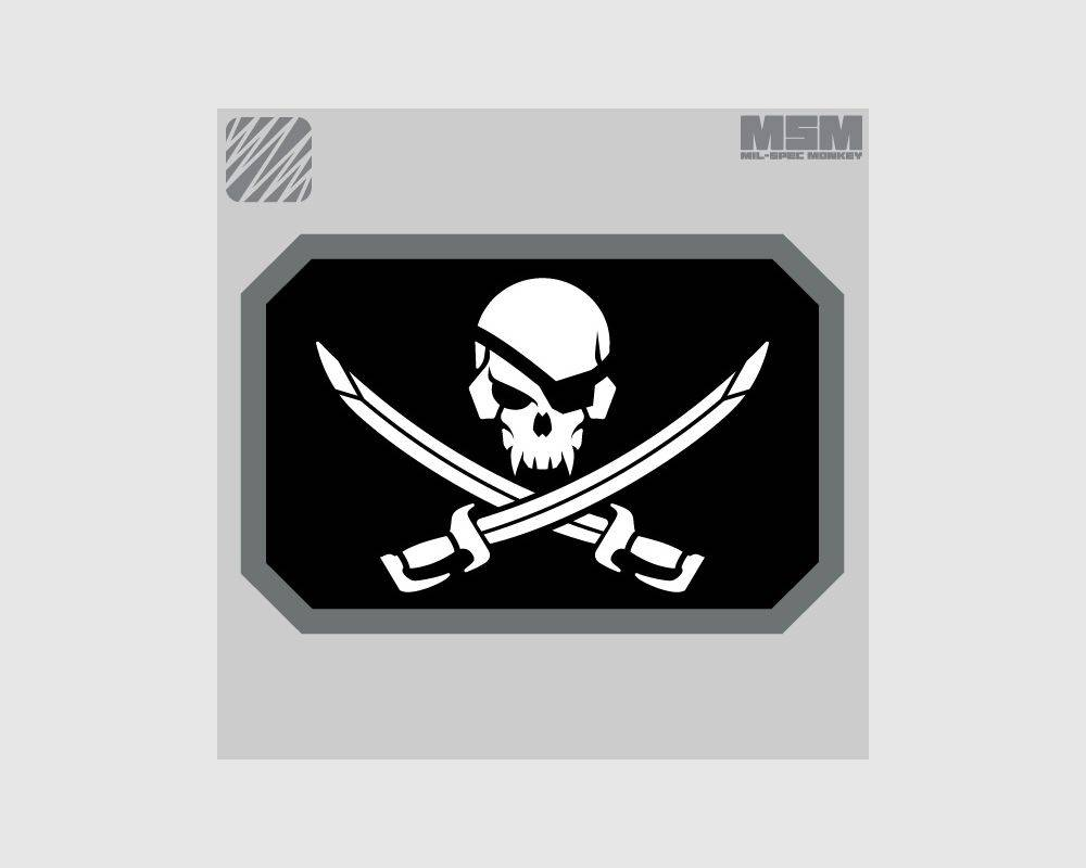 Milspec Monkey Milspec Monkey PirateSkull Flag