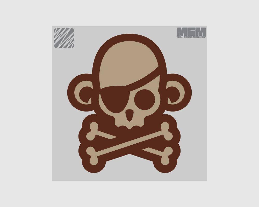 Milspec Monkey Milspec Monkey Skullmonkey - Pirate