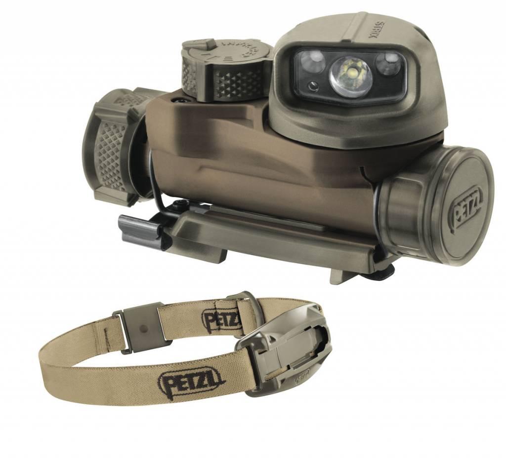 Petzl STRIX IR Compact Headlamp w/ headband