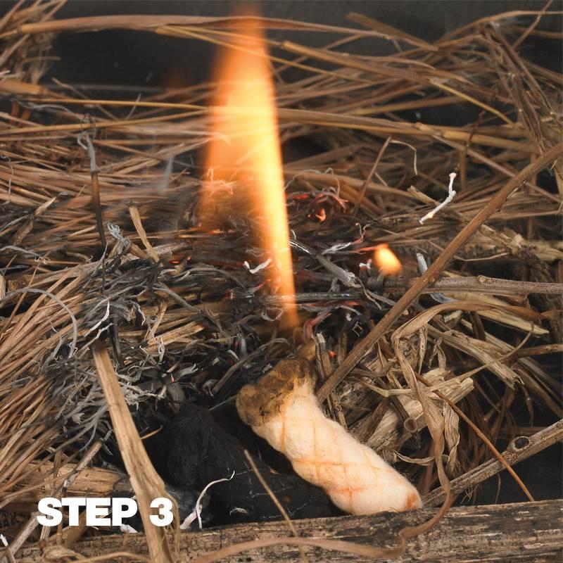 NDuR Tinder-Quik Fire Starting Tabs - 18 Tabs