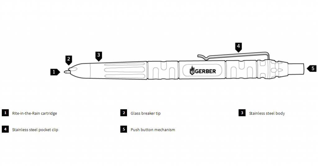 Gerber Gerber Impromptu Tactical Pen