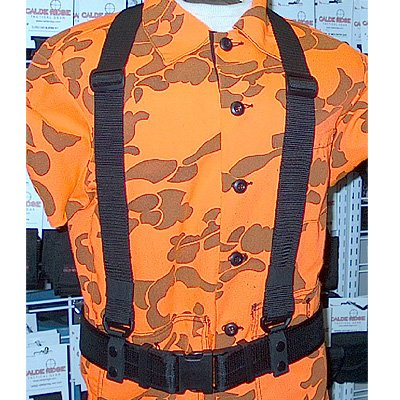 "Calde Ridge Calde Ridge WSS02 - Suspenders, Heavy Duty - 2"" With Snap"