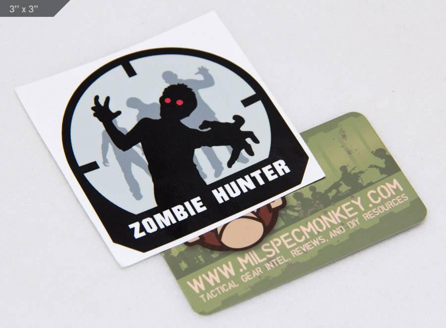Milspec Monkey MSM Zombie Hunter Decal, SWAT