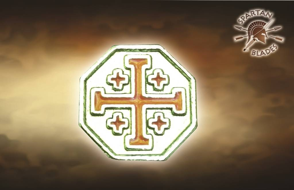 Spartan Blades Spartan Blades Crusader Cross Bead