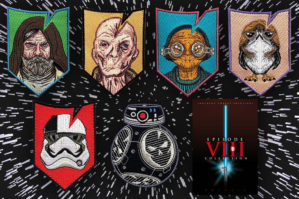 ITS Tactical ITS Episode VIII Morale Patch Collection LTD ED