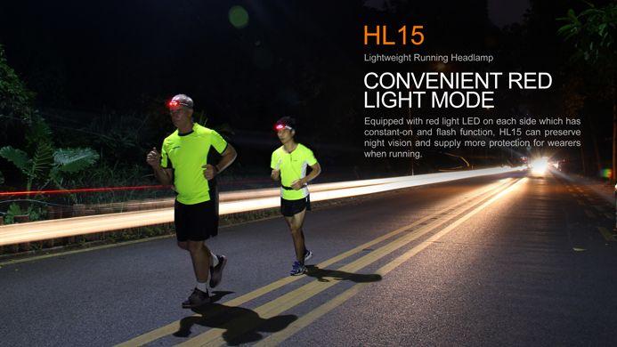 Fenix Fenix HL 15 Headlamp, Black