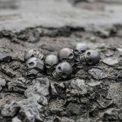 Prometheus Design Werx PDW Memento Mori Ti Skull Bead Tool