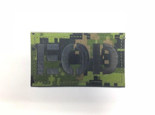 Custom IR Reflective Callsign Patch