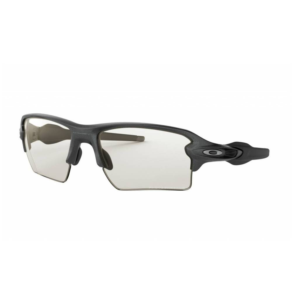 Oakley Oakley Flak 2.0 XL Steel, Clear Black Iridium Photochromic