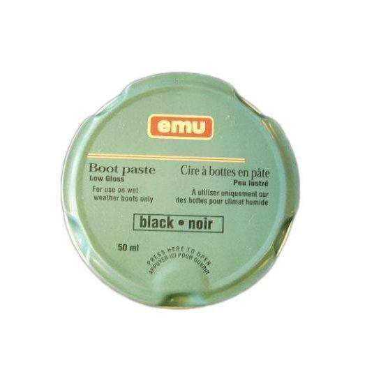 Emu Emu Boot Paste Low Gloss Black 50 ml