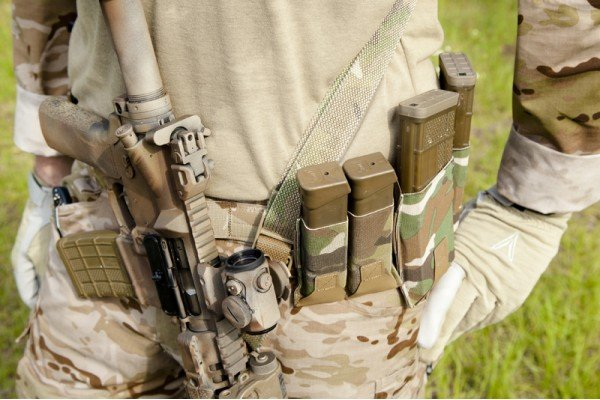 Blue Force Gear Blue Force Gear Belt-Mounted Ten Speed Double Mag Pouch for Pistol