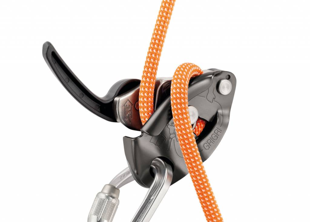 Petzl Petzl GRIGRI 2 Belay Device with Assisted Braking, Gray