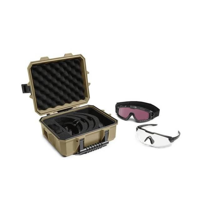 f0d4d5bb5c SI Ballistic M-Frame Alpha Operator Kit - Terrain Tan Strongbox - Matte  Black Clear - DS Tactical