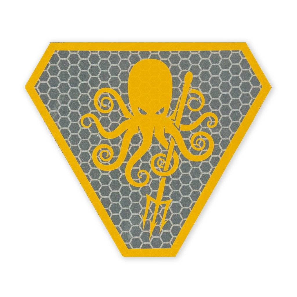 Prometheus Design Werx Prometheus Design Werx SPD Kraken 2018 SOLAS Morale Patch Orange