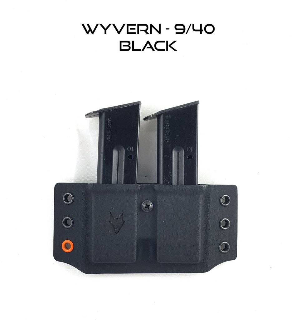 "Gray Fox Strategic Gray Fox Strategic Wyvern 9/40 Double Mag Carrier w/ 1.5"" Belt Loops"