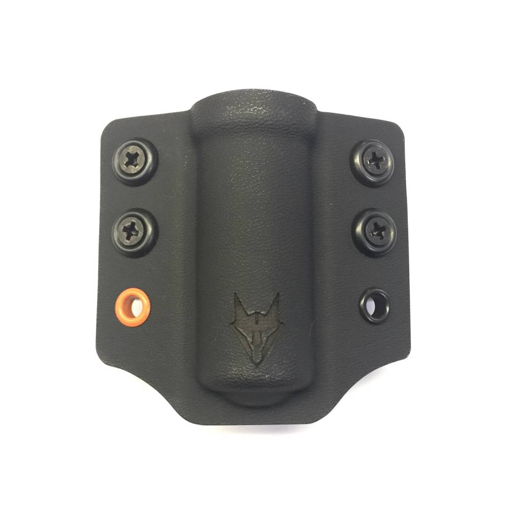 "Gray Fox Strategic Gray Fox Strategic Lampetia Flashlight/ASP Carrier w/ 1.5"" Belt Loops, Black"