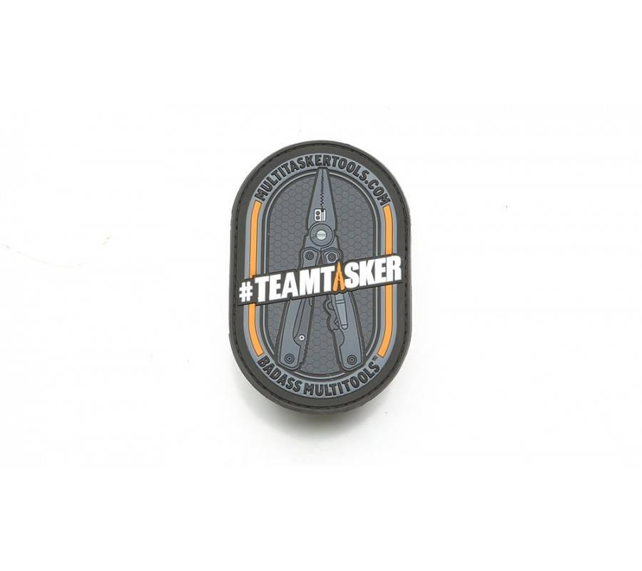 Multitasker Multitasker TeamTasker Patch, Black/Orange