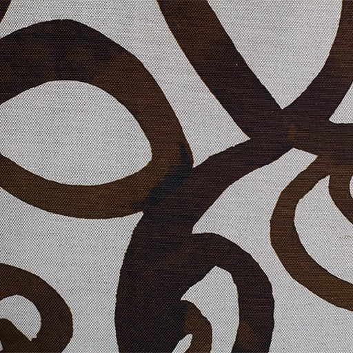 steve mckenzie's Loop Print Fabric Flax Background