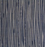 steve mckenzie's Pinstripe Print Fabric Flax Background