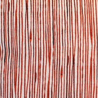 steve mckenzie's Pinstripe Print Fabric Oyster Background