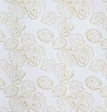 steve mckenzie's Honey Mini Rose on Cotton Sateen