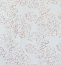 steve mckenzie's Blush Mini Rose on Cotton Sateen