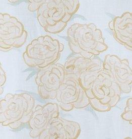 steve mckenzie's Honey Bouquet on Cotton Sateen