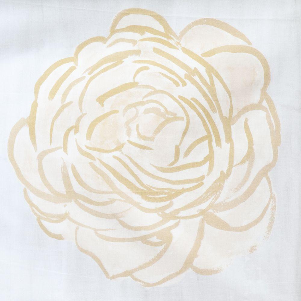 "steve mckenzie's Honey Single Rose Pillow 24""x24"" (2) printed"