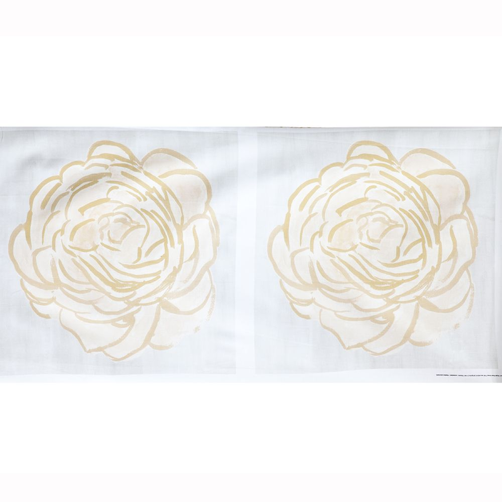 "steve mckenzie's Honey Single Rose Pillow 24""x24"" (2) printed"