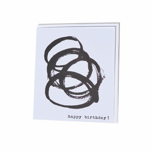 Steve McKenzie Stationery Happy Birthday Card
