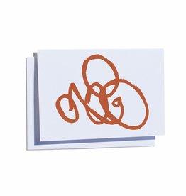 Steve McKenzie Stationery Orange Card