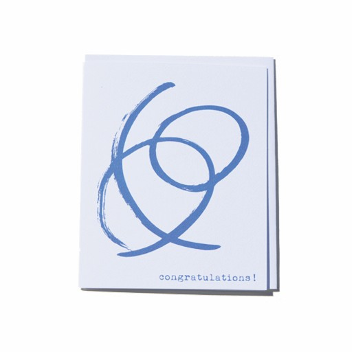 Steve McKenzie Stationery Congratulations Card