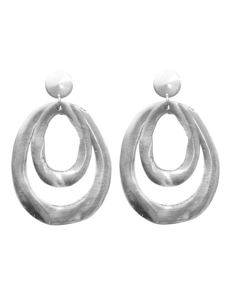 Carme Anglada Double alluminium oval E