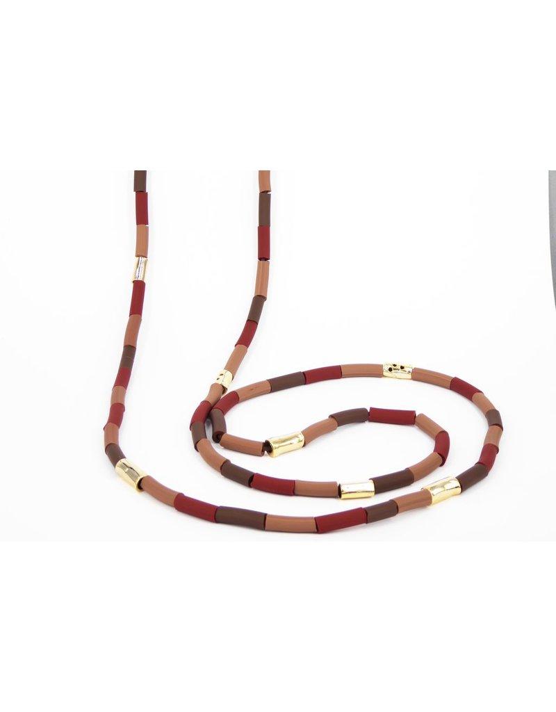 Iron by Miriam Nori PVC mix tube bronze short N