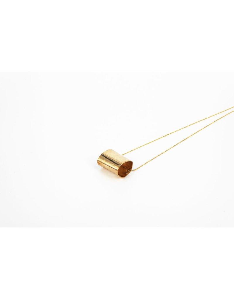 Iron by Miriam Nori Chain small cylinder N